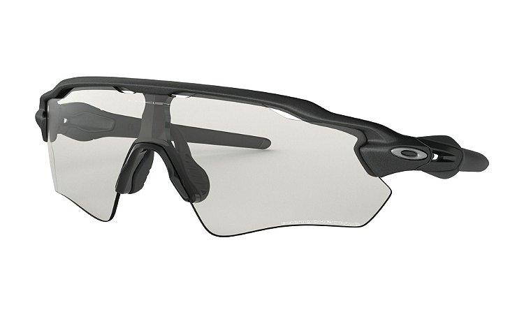 Óculos de Sol Oakley Radar Ev Path Steel Clear Black Fotocromático oo9208-13