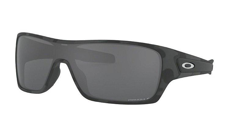 Óculos Oakley Turbine Rotor Black Camo Collection Prizm Black Polarizado
