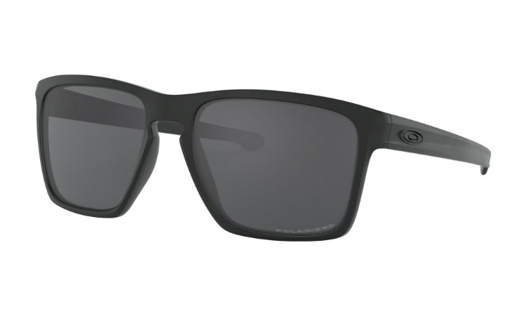 Óculos Oakley Sliver XL Grey Polarized Matte Black