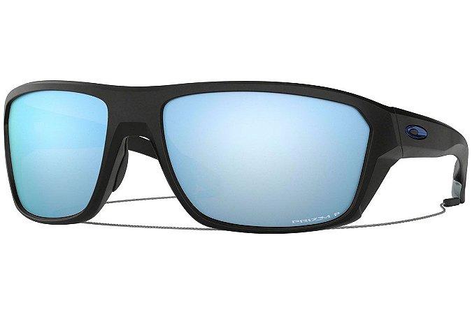 Óculos Oakley Split Shot Matte Black Prizm Deep H2O Polarizado