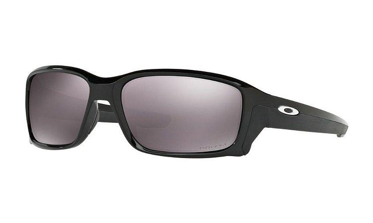 Óculos Oakley Straightlink Polished Black Prizm daily Polarizado oo9331-07