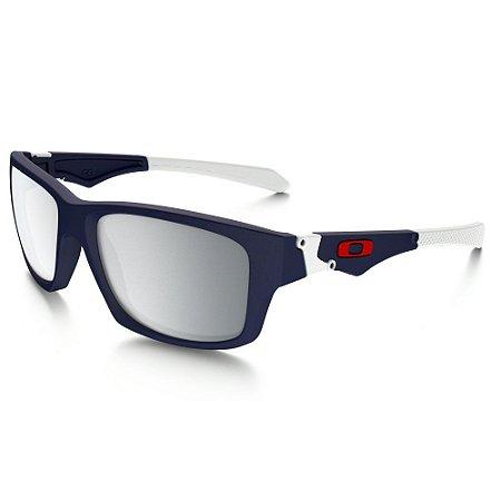 Óculos Oakley Jupiter Squared Matte Navy Chrome Iridium oo9135-02