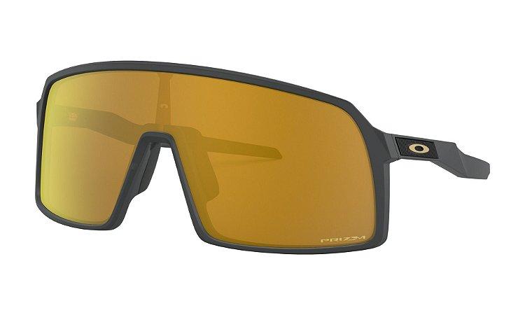 Óculos Oakley Sutro Matte Carbon Prizm 24k