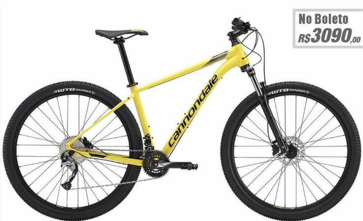 Bicicleta Cannondale Trail 6  27.5 - 2019