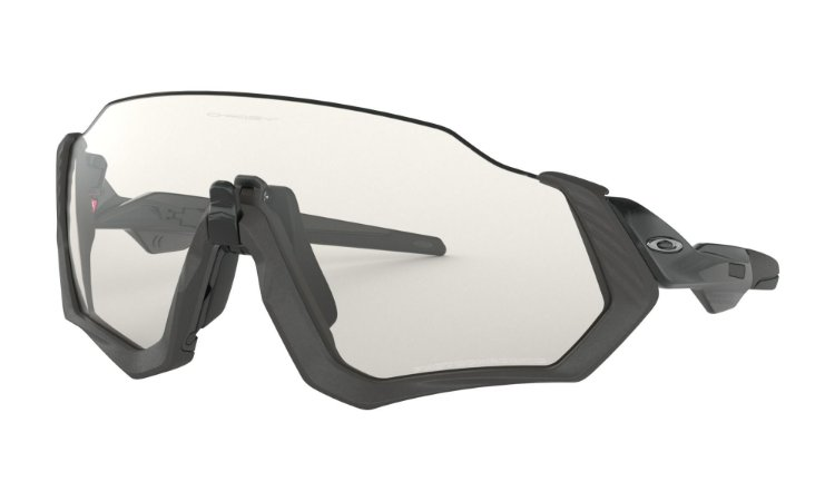 Óculos de Sol Oakley Flight Jacket Steel Clear Black Iridium Photochromic oo9401-07