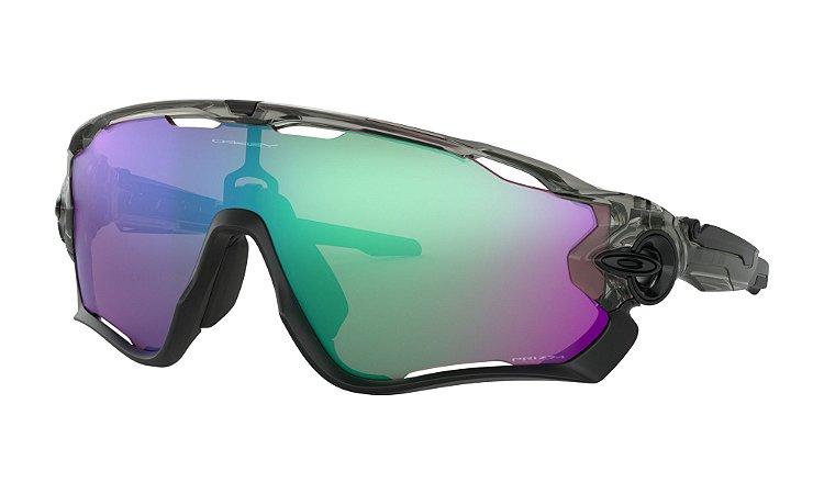 Óculos de Sol Oakley Jawbreaker Grey Ink Prizm Road Jade oo9290-4631