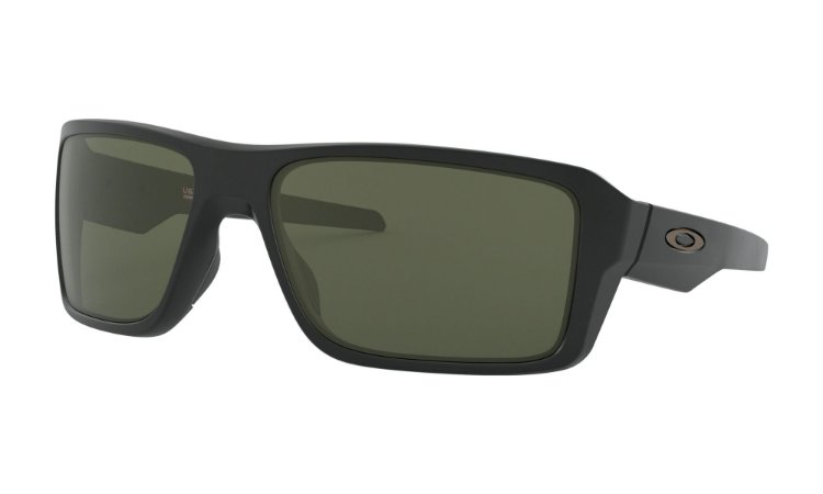 Óculos de Sol Oakley Double Edge Matte Black Dark Grey OO9380-0166