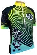 Camisa de Ciclismo Muhu Coração Vibração