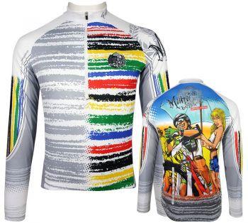 Camisade Ciclismo Manga Longa Muhu Loucos Por Bike Largada