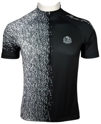 Camisade Ciclismo Muhu Solid Color Black White