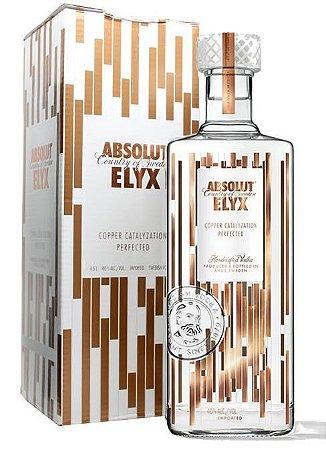Vodka Absolut Elyx 4,5 Litros
