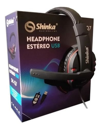 HEADPHONE ESTÉREO USB SHINKA  SH-Q7