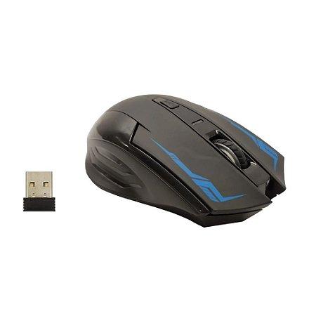 MOUSE  SEM FIO RECARREGAVEL COM CABO USB (MO-X07)
