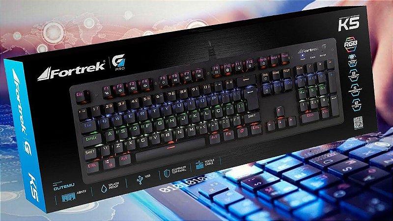 Teclado Mecânico Gamer Fortrek K5