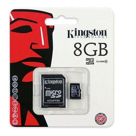 CARTÃO DE MEMORIA  KINGSTON 8 GB