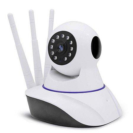 Câmera IP HD 720 Sem Fio Wi-Fi