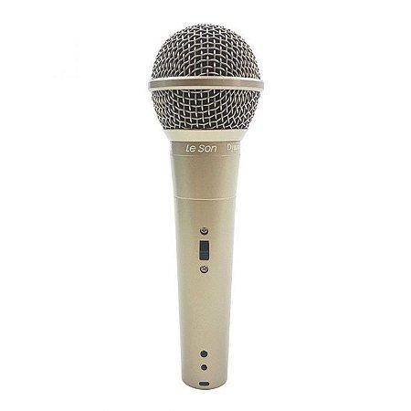 Microfone Leson Ls58 Champanhe