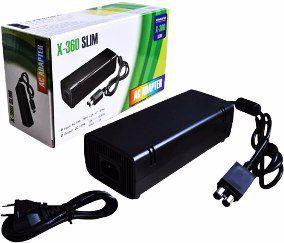Fonte De Alimentação Para Xbox 360 Slim Bivolt 110v/220v