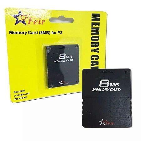 Cartão De Memória 8mb Para Playstation 2