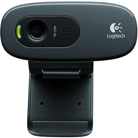 Webcam Gamer C270 HD Preto - Logitech