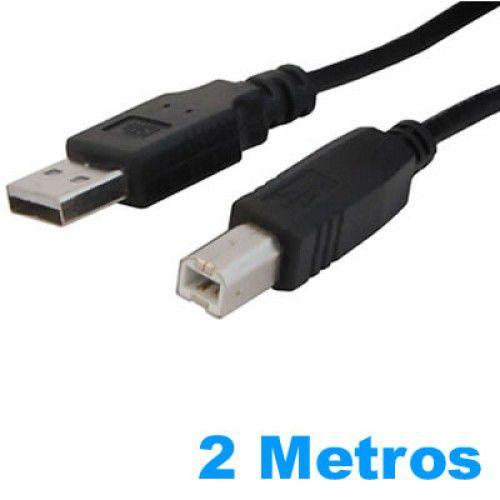 Cabo USB 2.0 AM/BM p ara Impressora  de 2 Metros Exbom CBX-U2AMBM20B
