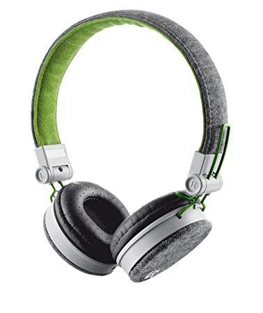 HEADPHONE  FYBER TRUST URBAN  T20080  CINZA E VERDE