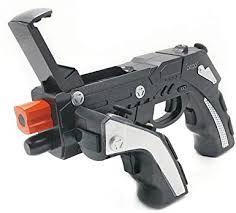 Controle pistola para celular The Phantom ShoX BLASTER WIRELESS GUN PG-9057