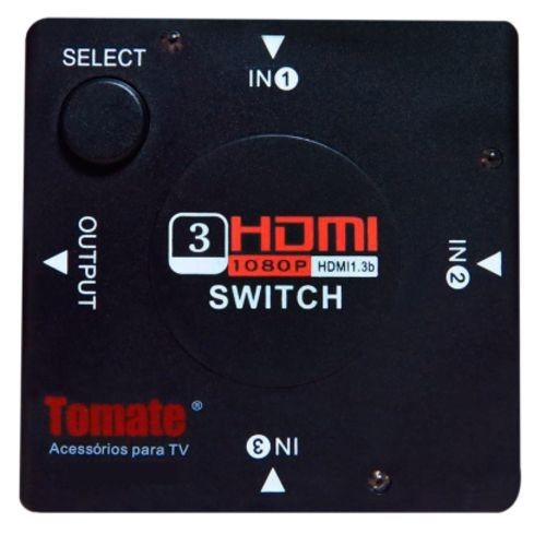 Switch HDMI 3X1 MTV-141 Tomate