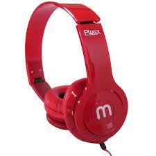 Headphone Fold Altomex A-866 Vermelho