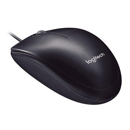 Mouse Óptico Logitech Usb 2.0 M90 Preto 1000dpi C/nf
