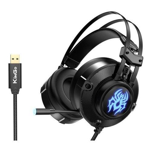 Headset Gamer KinGo - F01