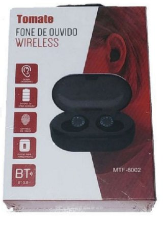 Fone de Ouvido Bluetooth Wireless Tomate MTF-8002