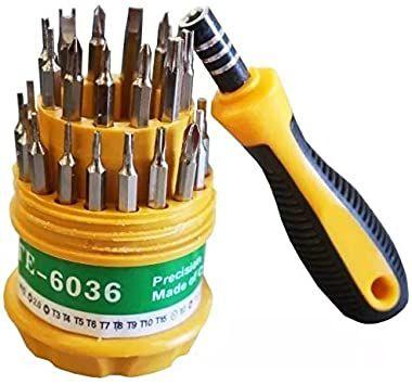 Kit Com 31 Chaves de Precisão TE-6036