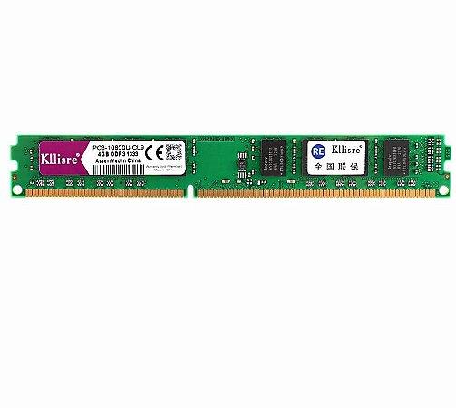 Memória 4Gb DDR3 1333 - Kllisre