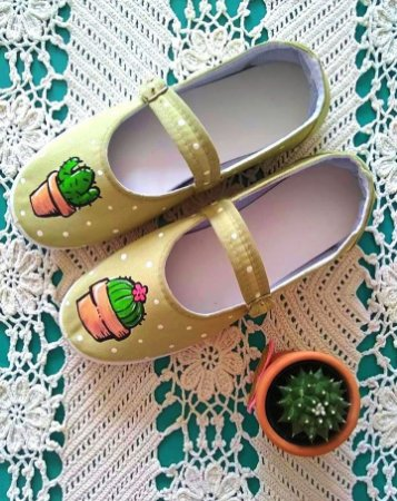 Sapatilha Cactus