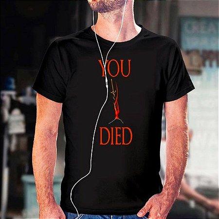 Camiseta Dark Souls You Died