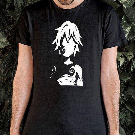 Camiseta Nanatsu no Taizai Meliodas e o Pecado do Dragão