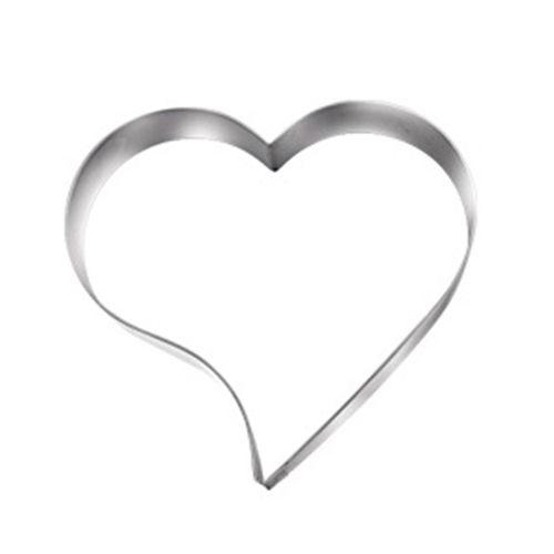 Aro cortador coração para bolo Doupan