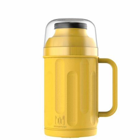 Garrafa Térmica Personal 500 ml Termolar amarela