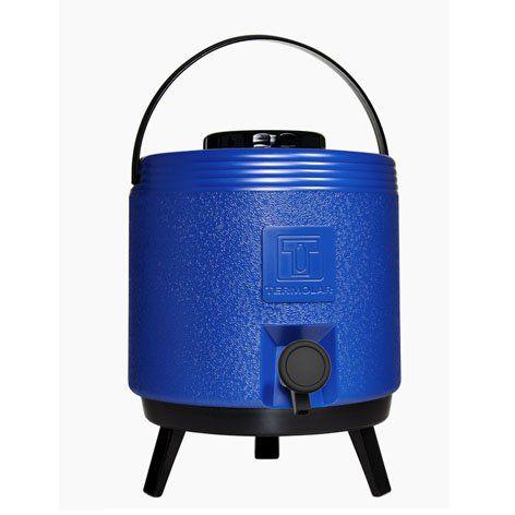 Botijão Maxitermo 8 litros Azul Termolar