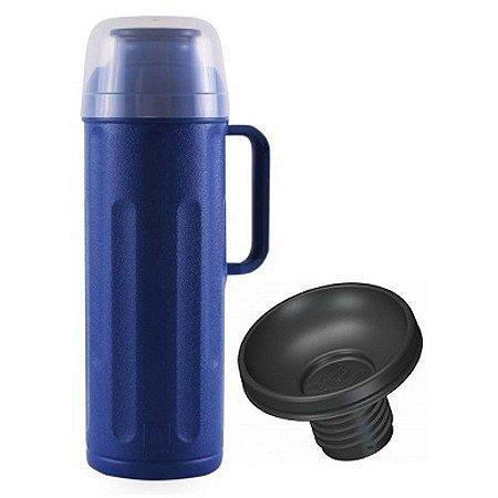 Garrafa Térmica Personal 1 Litro Termolar azul