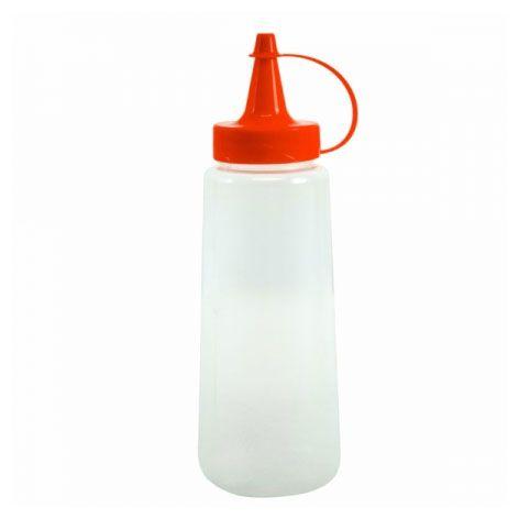 Bisnaga para molhos 250 ml Plasvale - vermelha