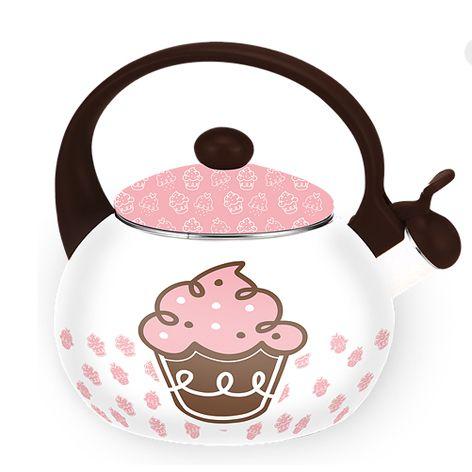 Chaleira Cupcake Decor&Casa