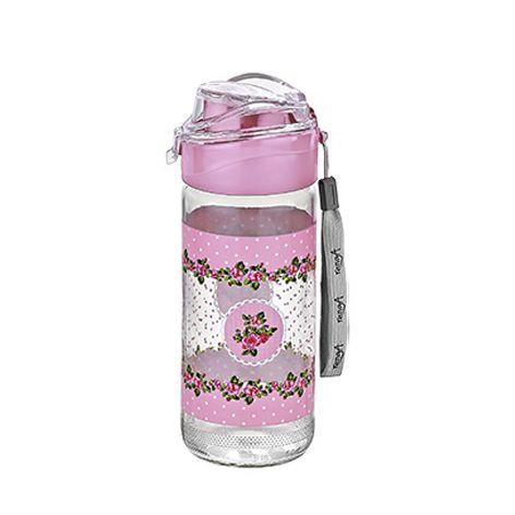 Squeeze de vidro Roses Rosa Casambiente