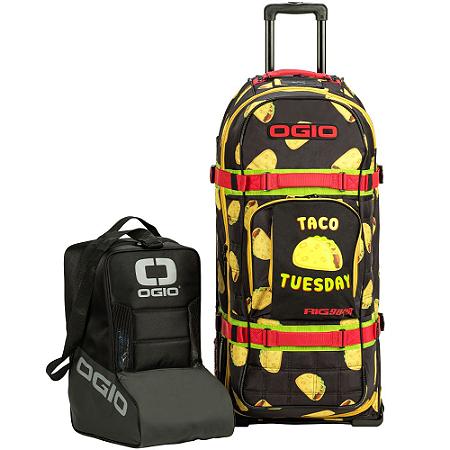 Bolsa De Equipamentos Ogio Rig 9800 Pro Wheeled Bag - Taco Tuesday