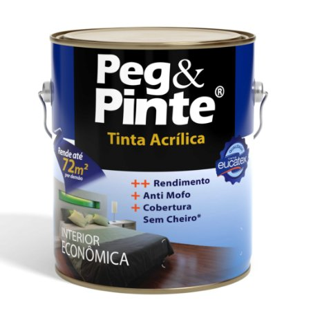 Peg Pinte Acrílica Branca 3,6 L