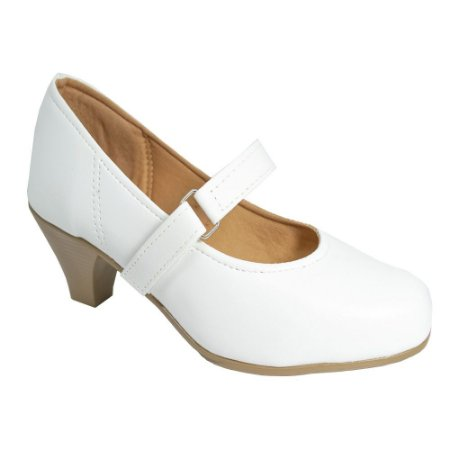 Sapato Social Salto Branco
