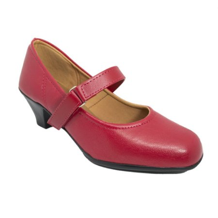 Sapato Social Salto Vermelho