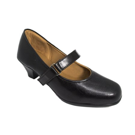 Sapato Social Salto Preto