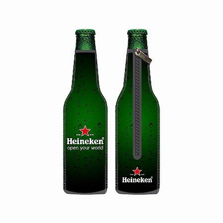 Porta Long Neck de Neoprene Heineken